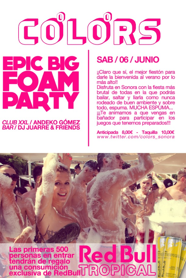 COLORS epic big foam party